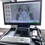 4輪トータルアライメントテスター  HUNTER WA370